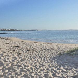 La plage du Goërem de la presqu'île de Gâvres